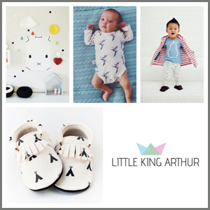 little-king-arthur webshop, babystuff