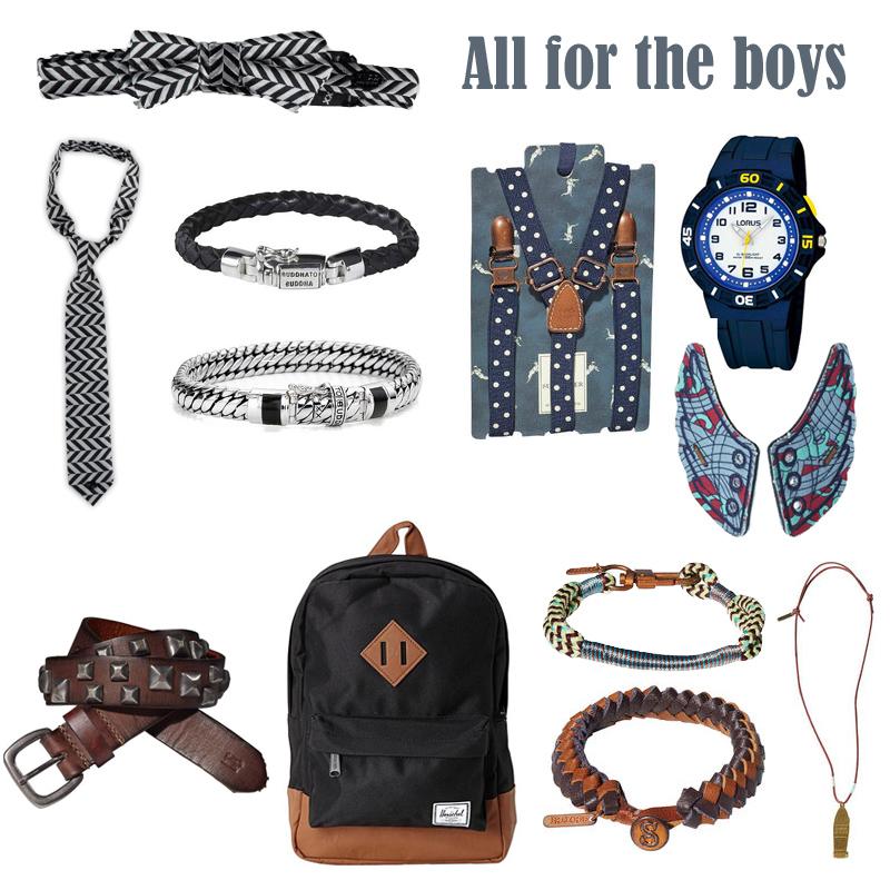 sieraden voor jongens, jongenssieraden