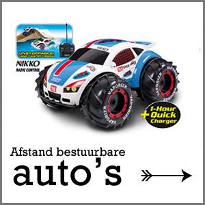 afstandbestuurbare auto's, stoer jongensspeelgoed, speelgoed voor jongens, amfibie voertuig, nikko afstandbestuurbare auto
