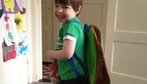 eerste schooldag, kind eerste keer school, mijnschrijfschrift