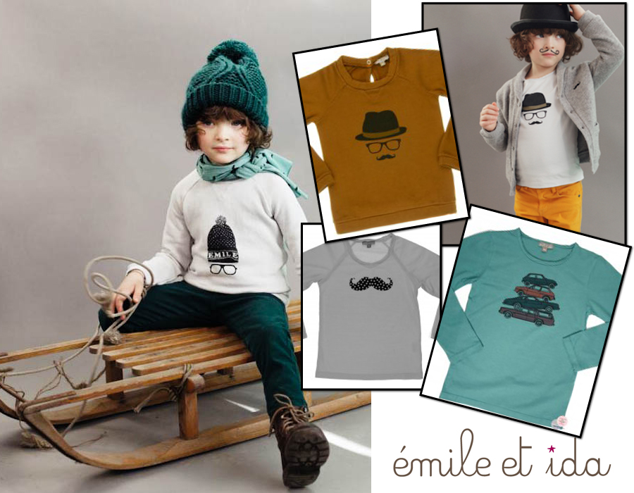 emile et ida, retro kinderkleding, emile et ida winter 2013