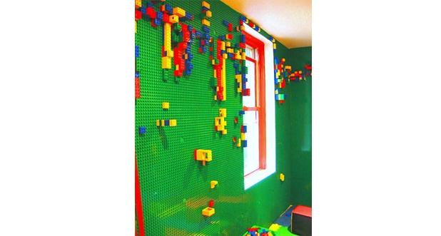 LEGO behang