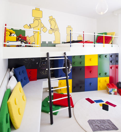 Legokamer l jongenskamer inspiratie voor een lego fan - Deco voor de kamer van de jongen ...