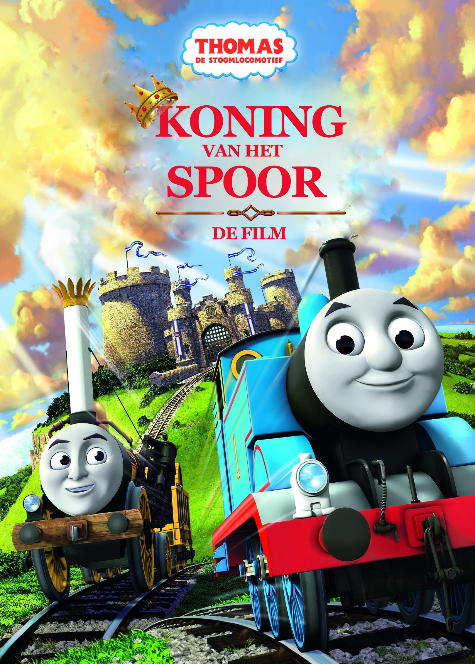 thomas koning van het spoor, nieuwe film van thomas de trein