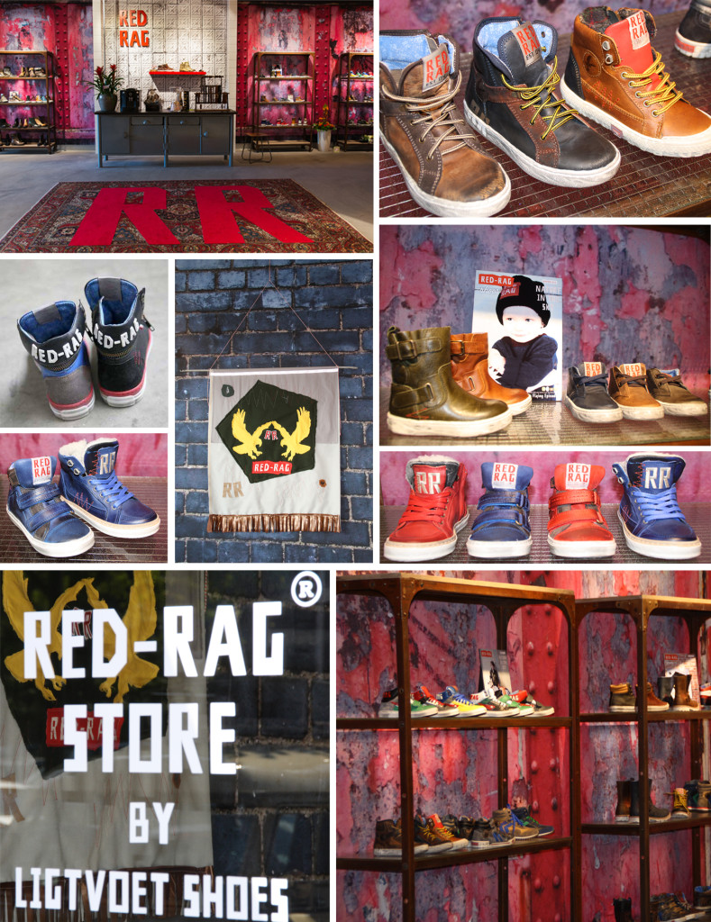 Red Rag Store - Ligtvoet
