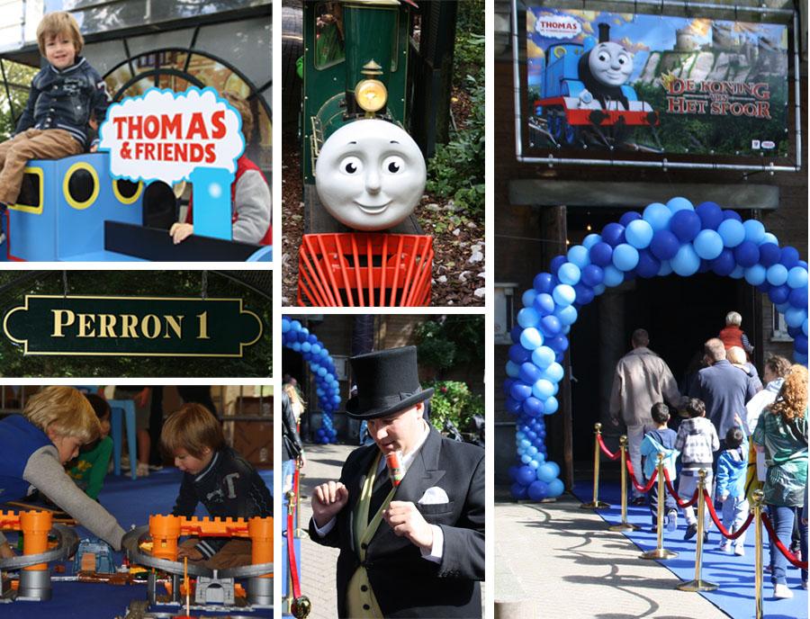 Thomas de Stoomlocomotief fandag, thomas de trein fandag, thomas de stoomlocomotief de koning van het spoor