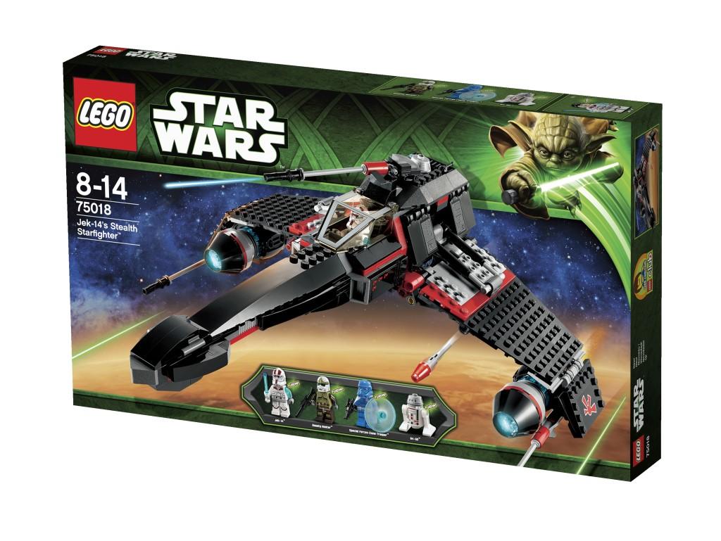 LEGO STAR WARS, LEGO STAR WARS jek-14's stealth starfighter, lego 75018, lego winactie