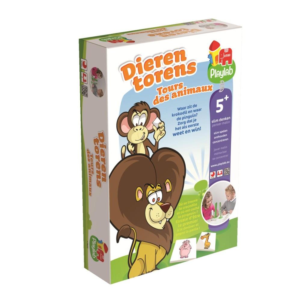 Playlab, dierentorens, leuk spel voor jongens