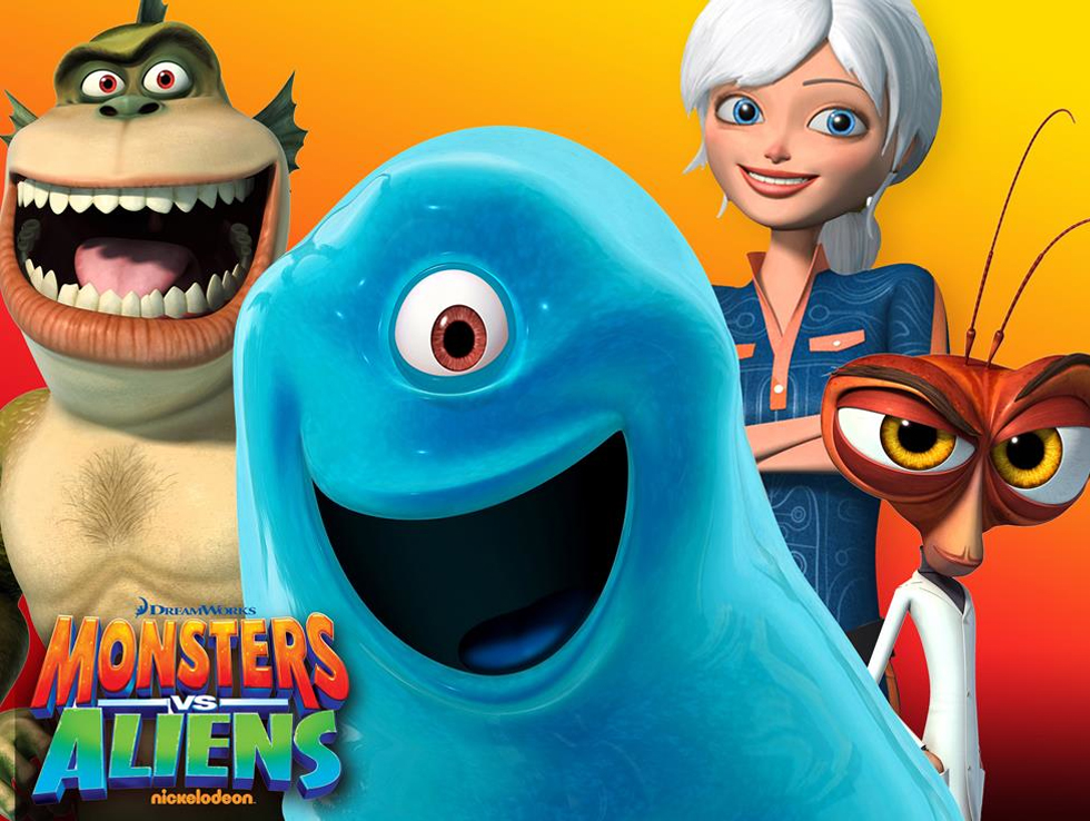 monsters vs aliens de serie, monsters aliens, monsters vs. aliens, nickolodeon serie monsters vs aliens