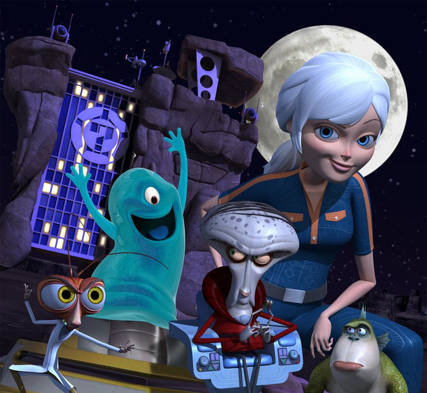 Monsters vs. Aliens , Monsters vs Aliens de serie