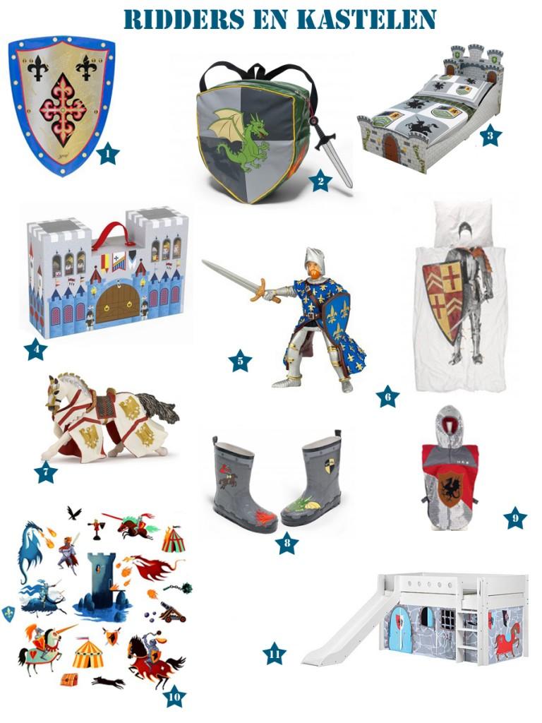 Ridders-en-kastelen, ridder speelgoed