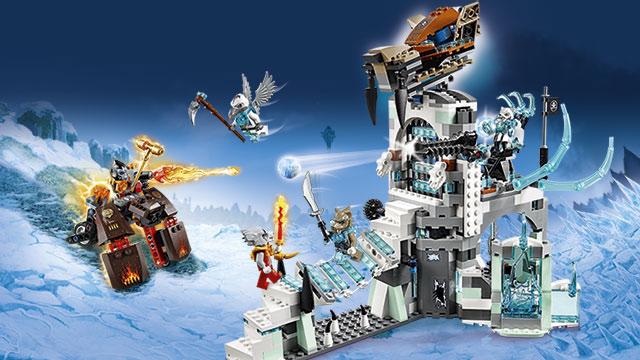 De legende van de Vuur CHi , LEGO CHIMA