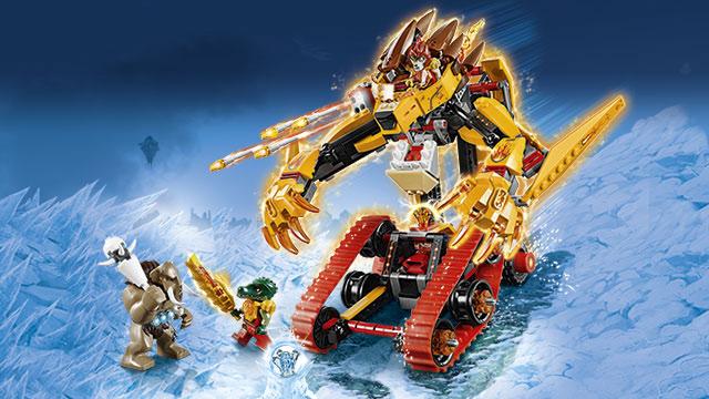Lego chima l de legende van de vuur chi l jongensspeelgoed - Legende de chima saison 2 ...
