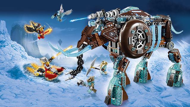 De legende van de Vuur CHi, LEGO CHIMA
