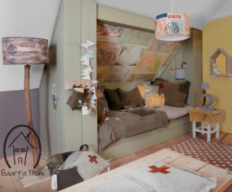 Saartje prum l te gekke jongenskamers accessoires en meubels - Bed voor kleine jongen ...