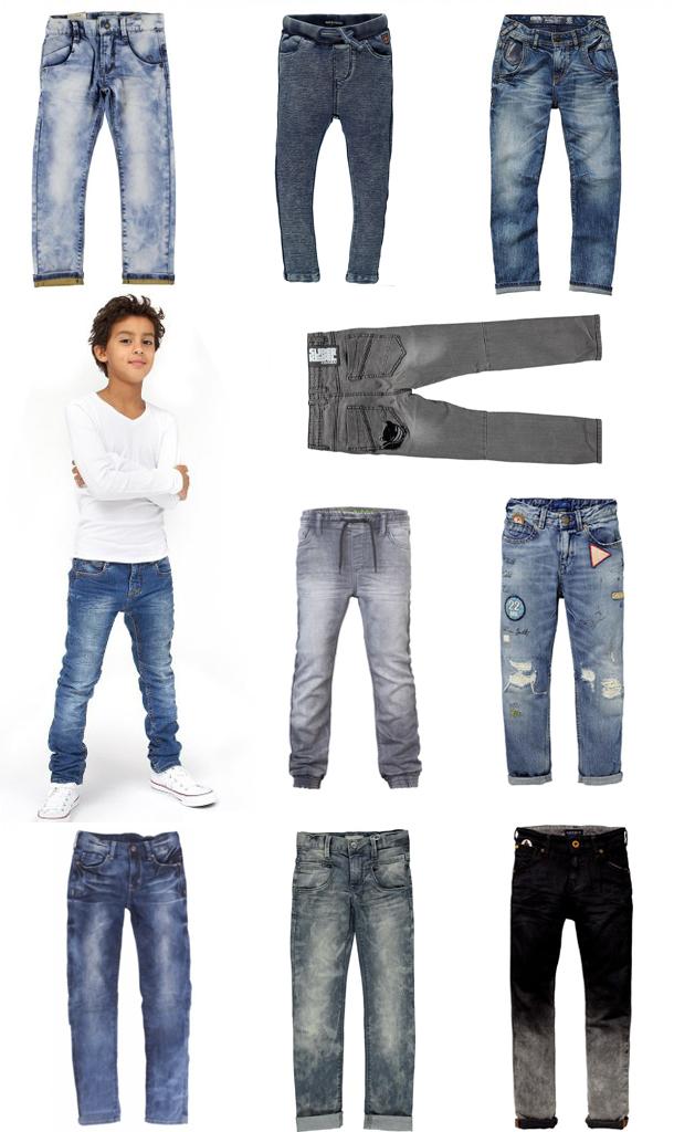 Super skinny jeans for boys
