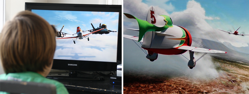 Planes dvd review