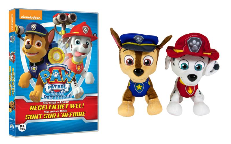 Paw Patrol, paw patrol winactie, nieuwste dvd paw patrol