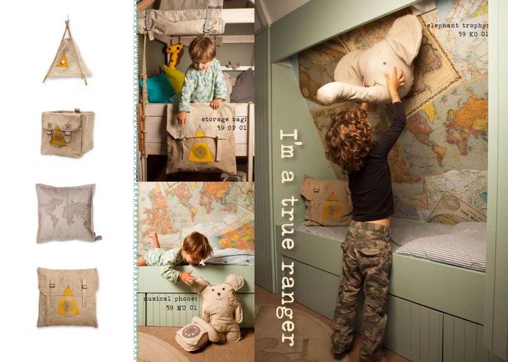 Kinderkamer thema wereld, jongenskamer inspiratie, voorbeeld jongenskamer , stoere jongenskamer