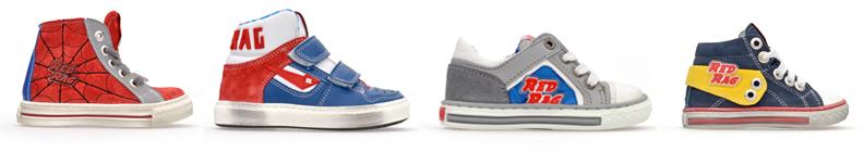Red Rag jongensschoenen, stoere schoenen voor jongens