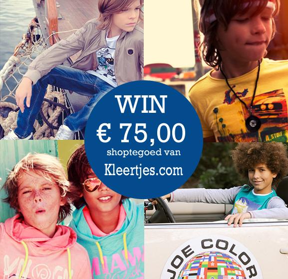 WIn shoptegoed van Kleertjes.com, Boyslabel