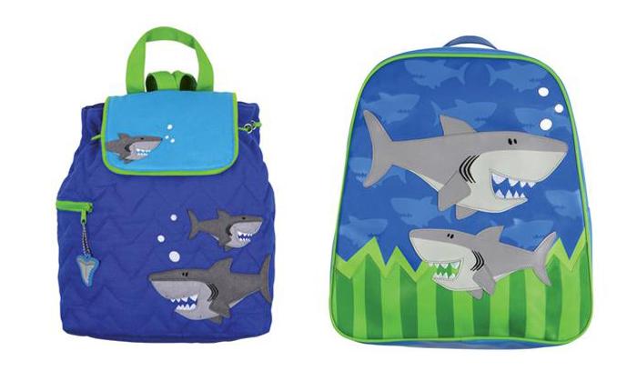 stoere haaien tassen, jongenstasjes