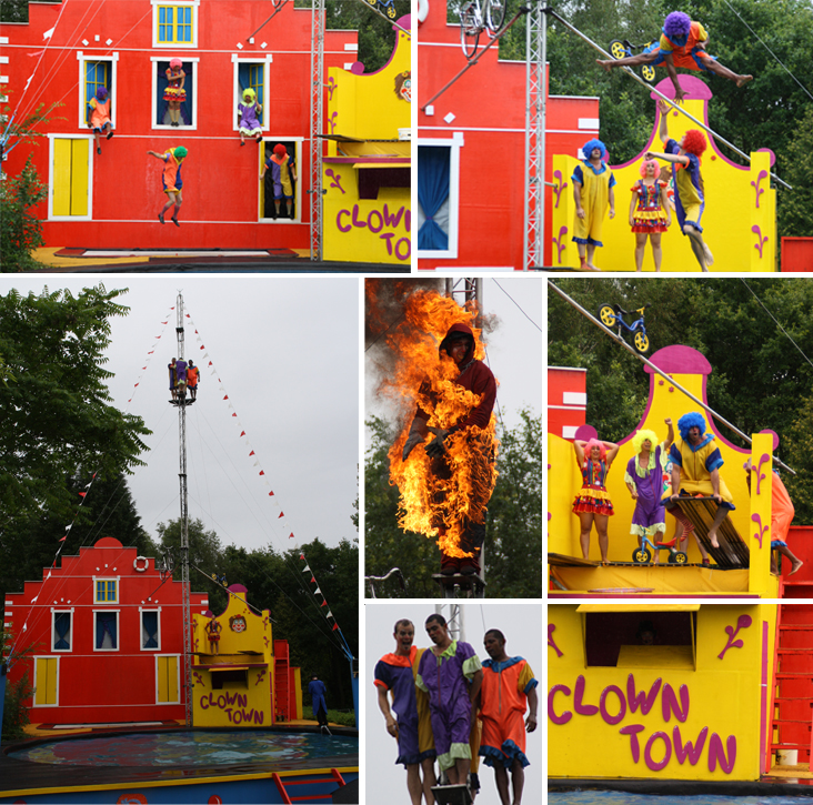 Clown City Stunt, Boyslabel, CLown Stuntshow Hellendoorn