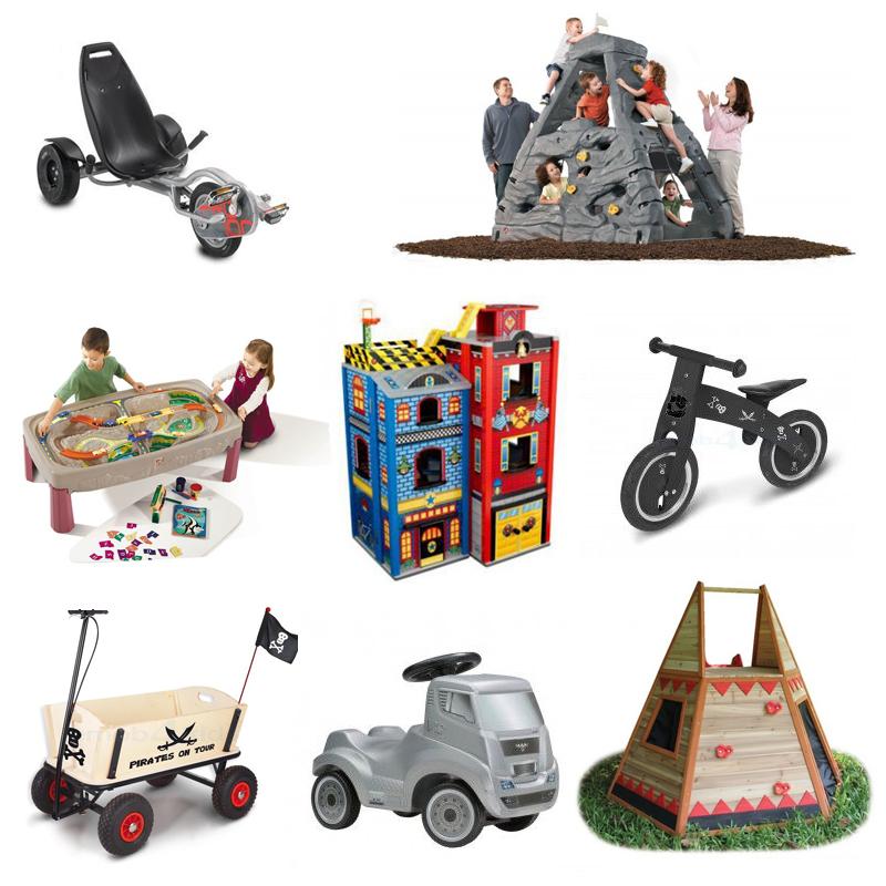 Emob4Toys, groot speelgoed, stoer jongensspeelgoed, houten speelgoed, kiddimanjaro klimrots, loopfiets, houten speelhuizen, trikers