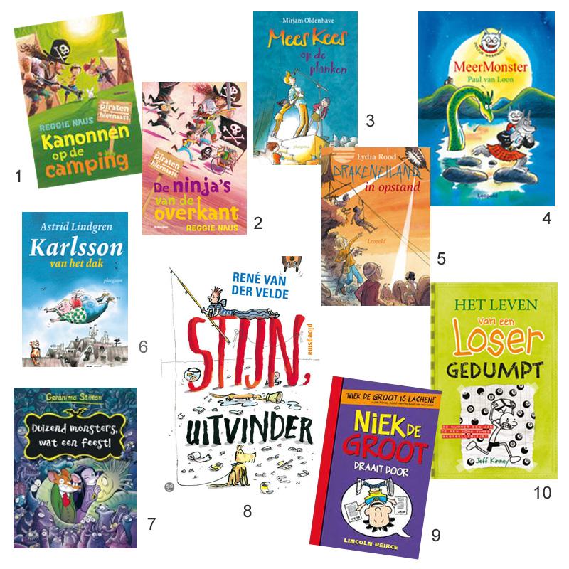 Kinderboeken voor jongens, jongensboeken