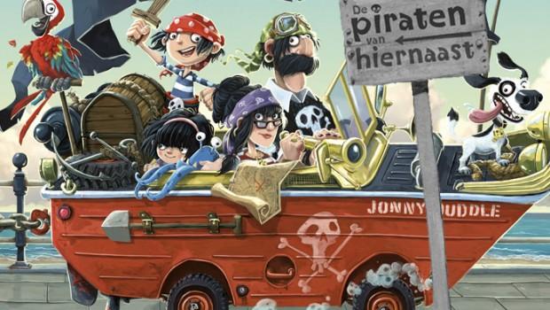 jongensboeken, de leukste kinderboeken voor jongens, piraten van hiernaast