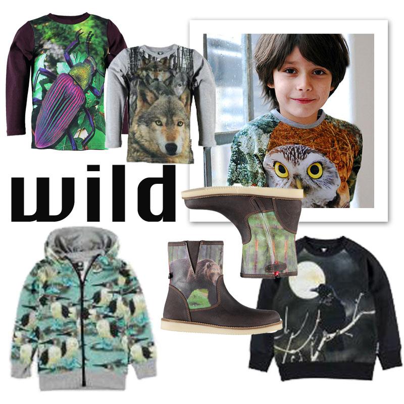 wild kinderkleding, wild kinderkleding winter 2014-2015, kindermode, jongenskleding
