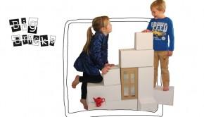 Big Bricks, bigbricks speelgoed, kartonnen speelgoed