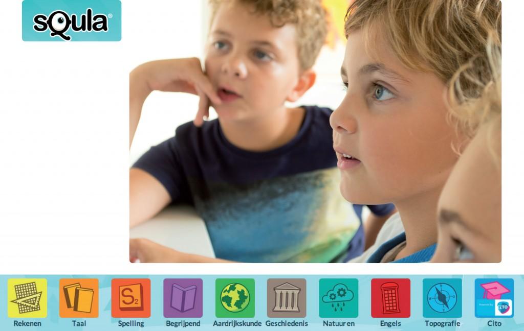Squla leuk leren, leren met Squla