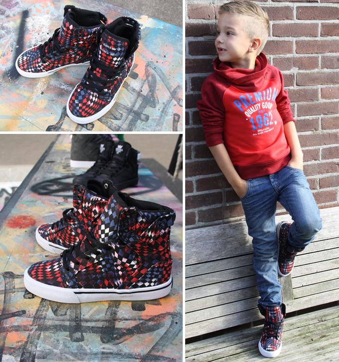 Supra kinderschoenen, sneakers voor kinderen, supra kindersneakers