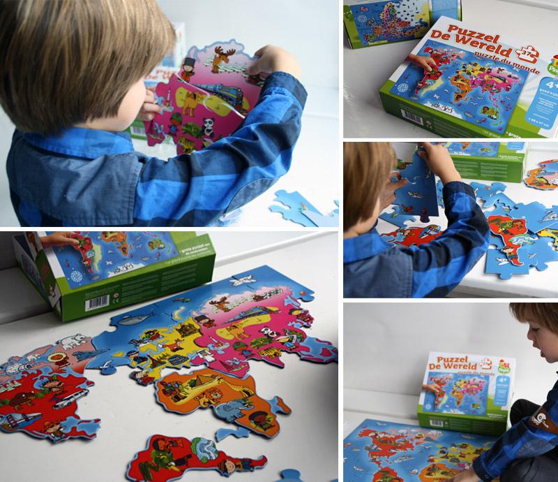 Wereldpuzzels, playlab puzzels