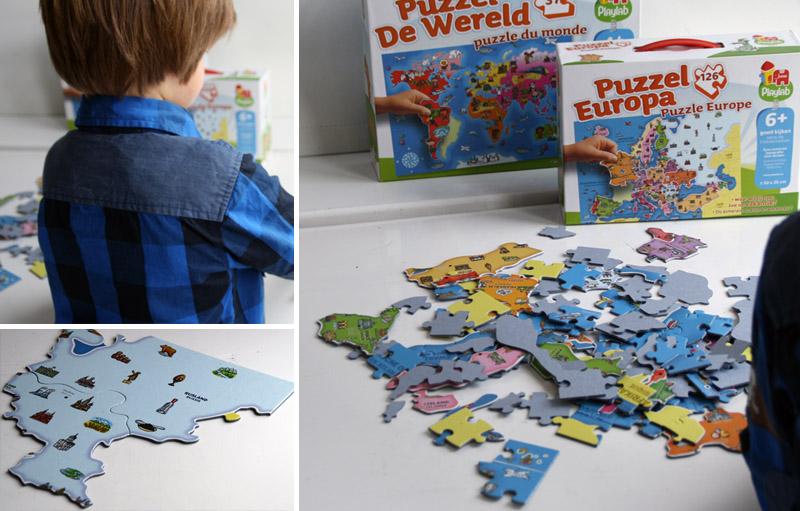 wereldpuzzels, Puzzel Europa