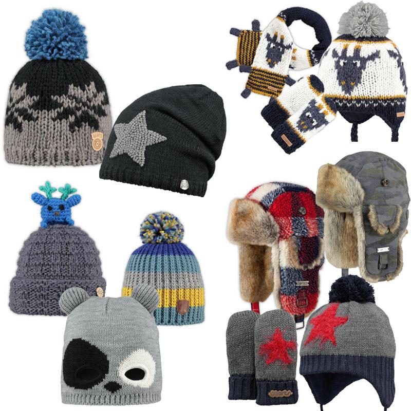 Barts kids, bart winteraccessoires, barts mutsen, barts handschoenen ...