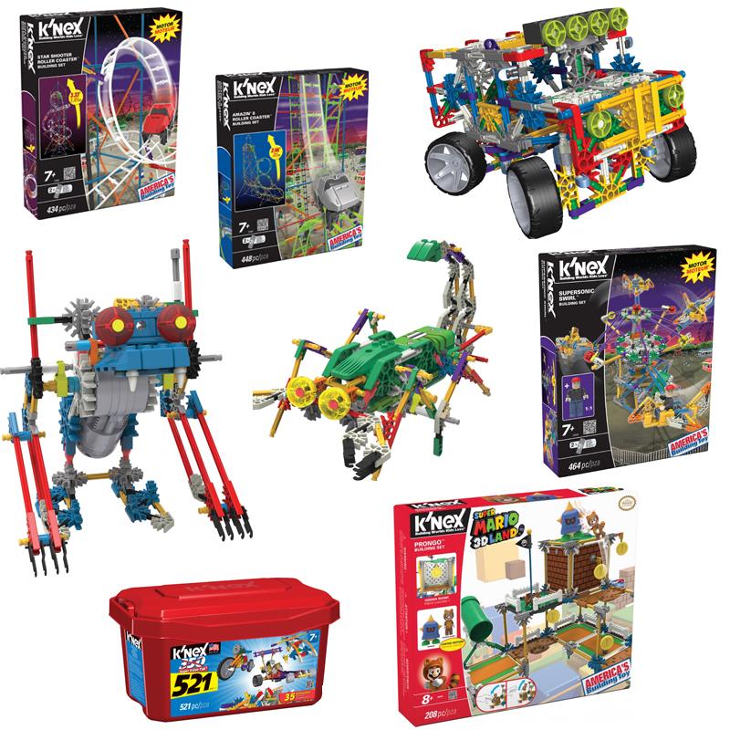 Knex speelgoed online kopen, Knex starshooter, knex achtbaan, knex robo creatures, knex typhoon frenzy, KNEX MARIO