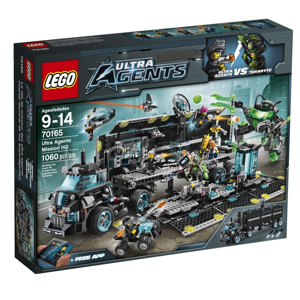 LEGO_UltraAgents_Hoofdkwartier, lego ultra agents