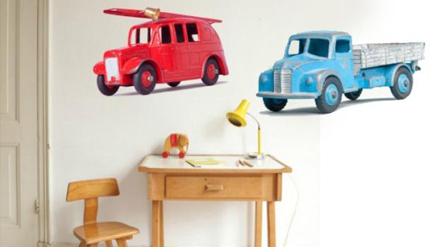 vintage-auto-muursticker