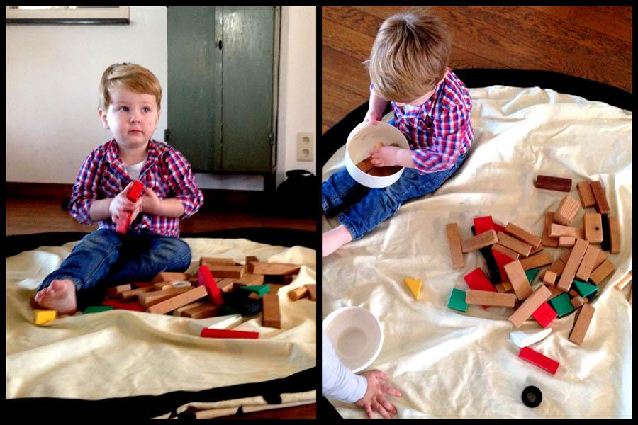 Play & Go speelkleed, opbergkleed speelgoed, speelgoed opberger, playandgo