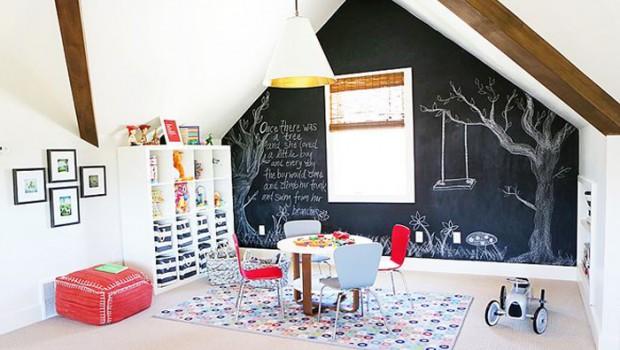 Schommel In Kinderkamer : Speelzolder gym kinderkamer styling voor een speelzolder