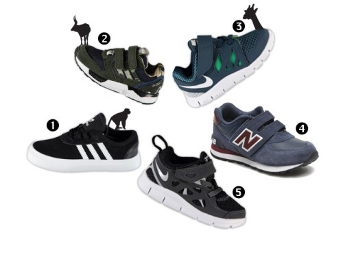 baby sneakers, boyslabel