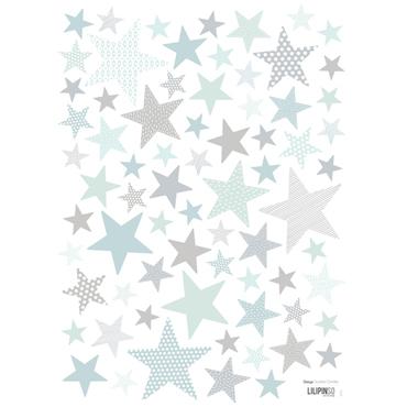 muursticker sterren l twinkel twinkel little star, Deco ideeën