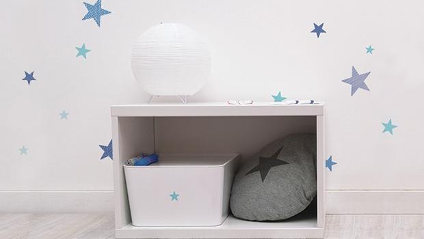 muursticker sterren, muurstickers babykamer