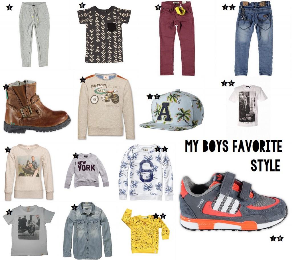 my boys favorite style, kinder mode blog, boyslabel