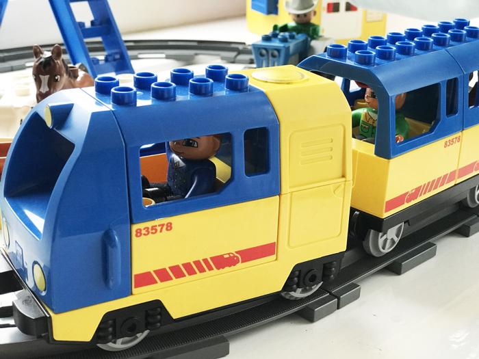 LEGO duplo trein, Duplo treinbaan, boyslabel, cadeau jongen 2 jaar, jongenscadeau