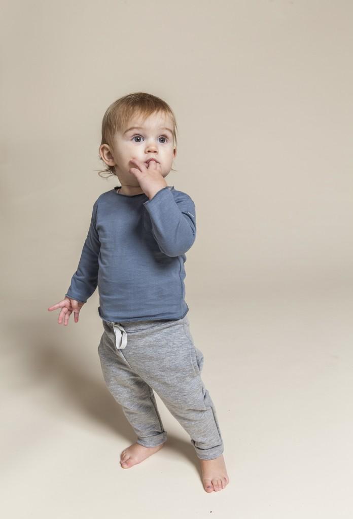 Minimalistische babykleding, gray label kids