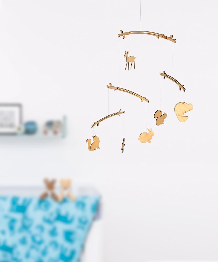 mobiel_babykamer, mobiel kinderkamer, houten kinderkameraccessoires, carrots and peas accessoires