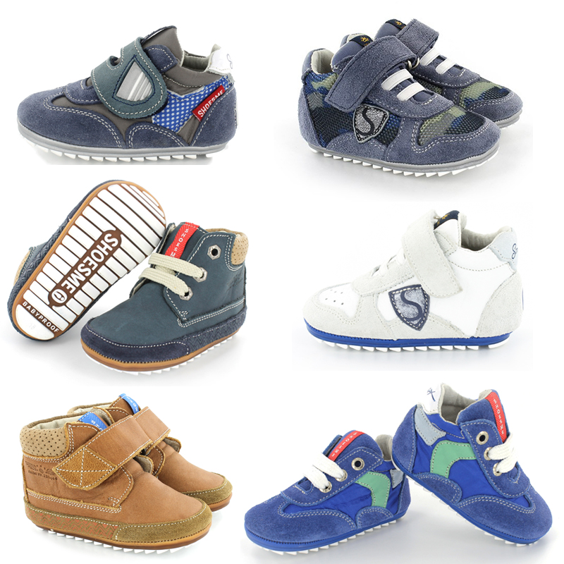 Babyproof-smart-collectie-Shoesme, jongensschoenen, babyschoenen